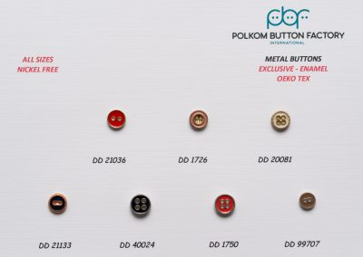 Polkom Metal Buttons 07