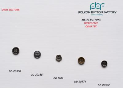 Polkom Metal Buttons 10