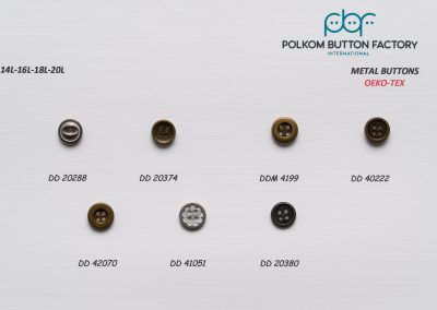Polkom Metal Buttons 11