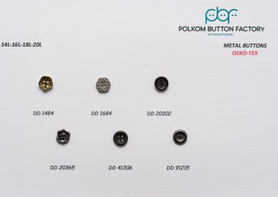 Polkom Metal Buttons 12