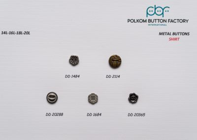 Polkom Metal Buttons 14