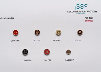 Polkom Metal Buttons 16