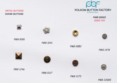 Polkom Metal Buttons 18