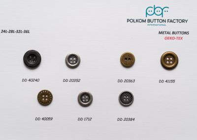 Polkom Metal Buttons 21