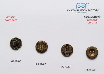 Polkom Metal Buttons 22