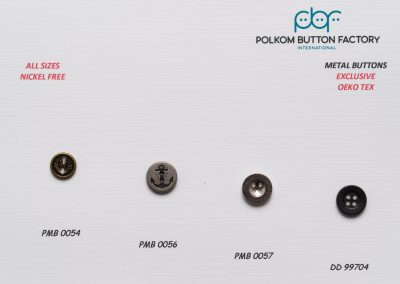 Polkom Metal Buttons 25