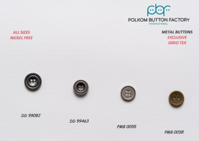Polkom Metal Buttons 26