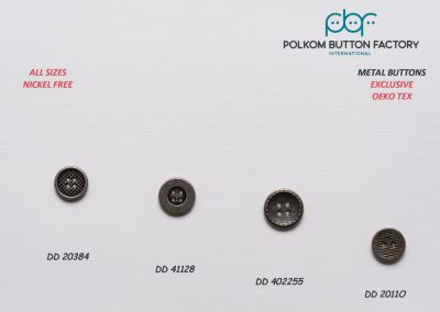 Polkom Metal Buttons 28