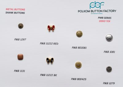 Polkom Metal Buttons 30