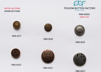 Polkom Metal Buttons 32