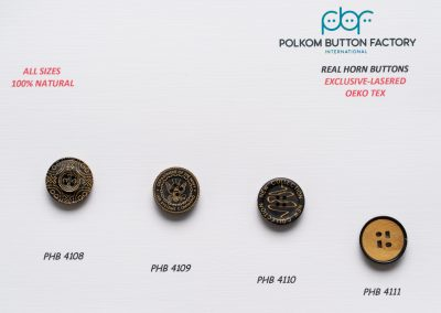 Polkom Real Horn Buttons 02
