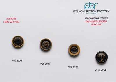 Polkom Real Horn Buttons 05
