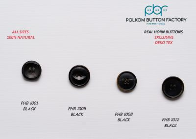 Polkom Real Horn Buttons 06