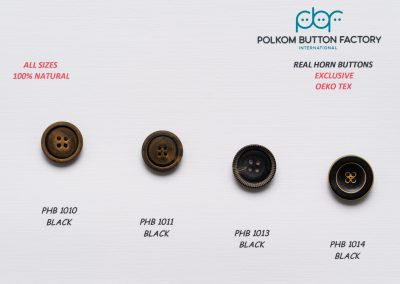Polkom Real Horn Buttons 07