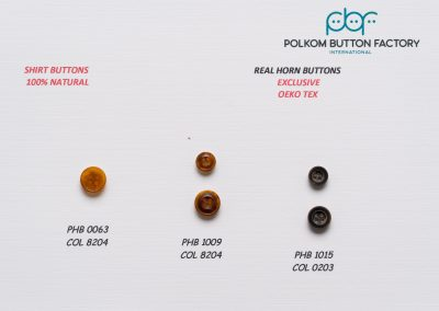 Polkom Real Horn Buttons 09