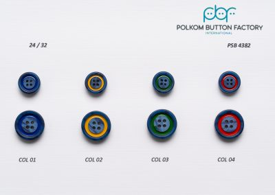 Polkom Polyester Buttons 010