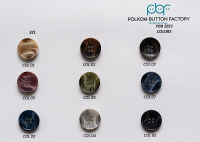 Polkom Polyester Buttons 011