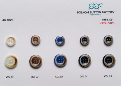 Polkom Polyester Buttons 012