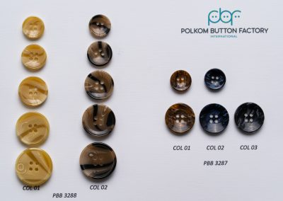 Polkom Polyester Buttons 015