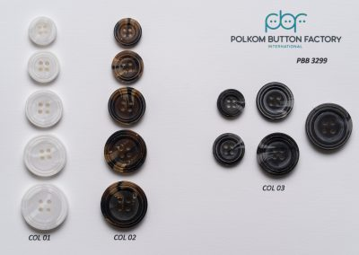 Polkom Polyester Buttons 016