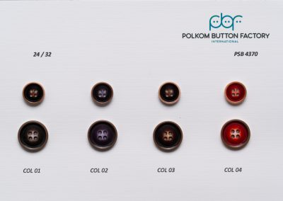 Polkom Polyester Buttons 020