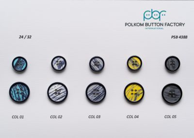 Polkom Polyester Buttons 028