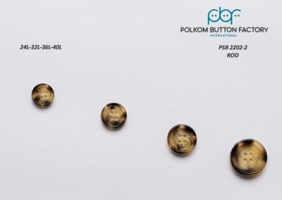 Polkom Polyester Buttons 033